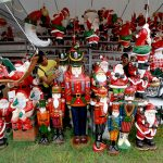 Assorted Christmas decors from Dapitan City on display in Bajada, Davao City. NewsLine Photo