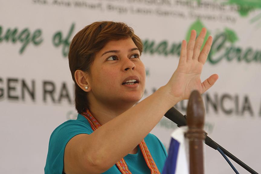 Mayor Sara Duterte-Carpio. File Photo