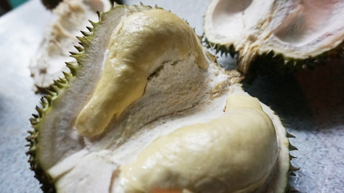 Durian in Magsaysay Street